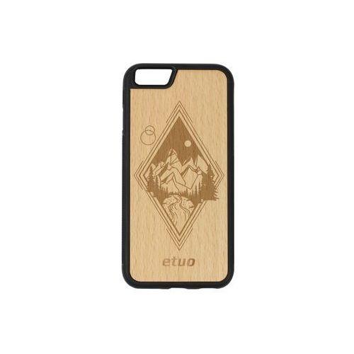 Etuo wood case Apple iphone 6 - etui na telefon wood case - buk - górski widok