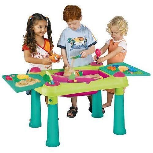 Stolik KETER kreatywny Fun Table Jasnozielono/Fioletowy