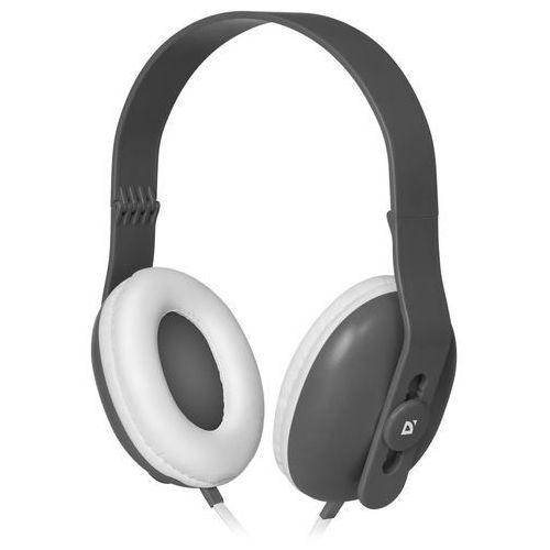 Słuchawki z mikrofonem Defender FANCY 440 szare