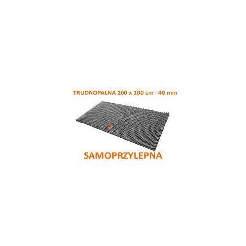 Pianka akustyczna fala 200x100cm trudnopalna z klejem marki Bitmat - OKAZJE
