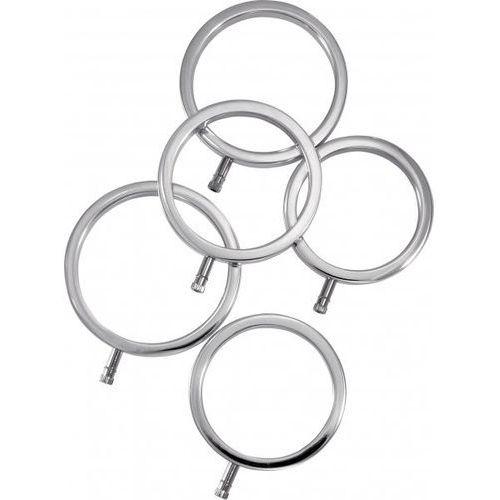 Zestaw pierścieni do elektrostymulacji (5 szt.) marki Electrastim (uk)