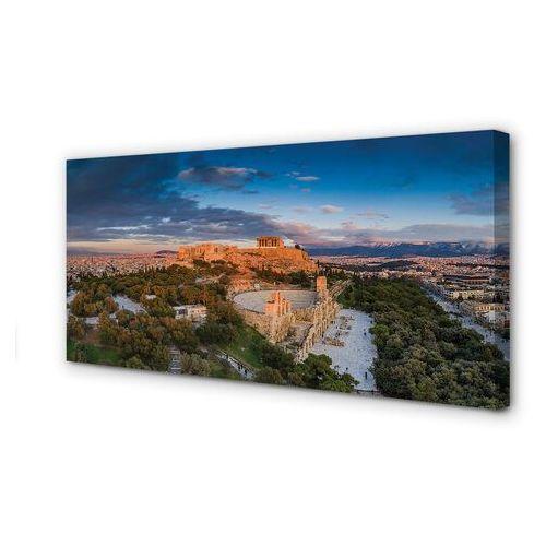 Obrazy na płótnie grecja panorama architektura ateny marki Tulup.pl