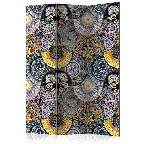 Parawan 3-częściowy - malowana egzotyka [room dividers] marki Artgeist