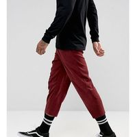 inspired relaxed trousers in cord - red marki Reclaimed vintage