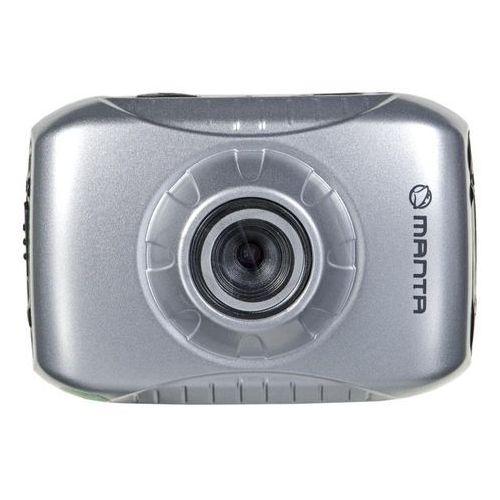 Kamera sportowa Manta MM337 srebrno-czarny- wysyłamy do 18:30