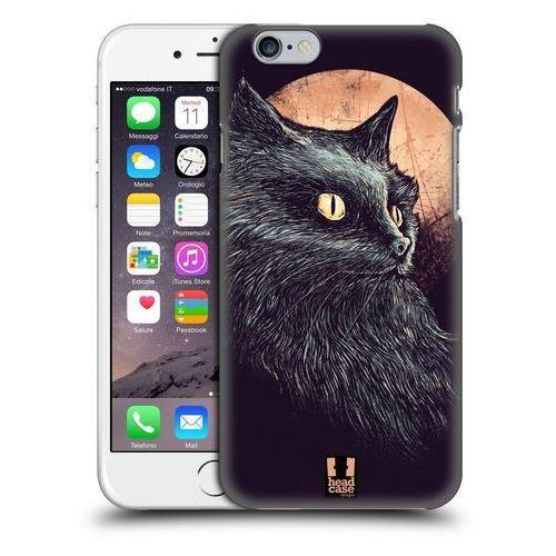 Etui plastikowe na telefon - CATS OF GOTH ORANGE MOON