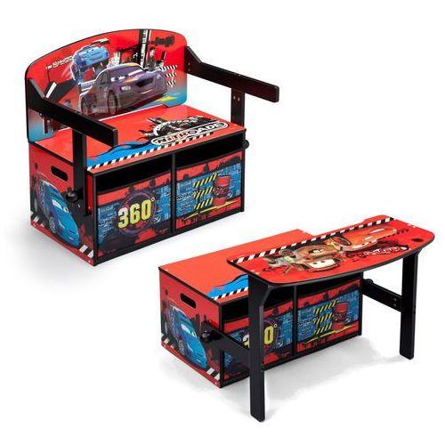 Delta cars auta sofa stolik biurko dla dzieci 3w1