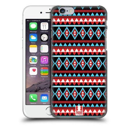 Etui plastikowe na telefon - Aztec Patterns RED AND BLUE