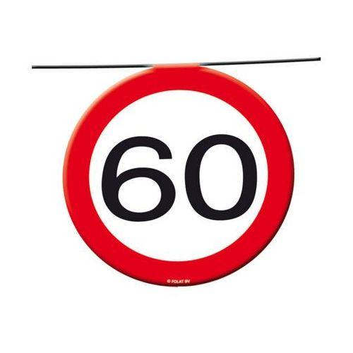 Folat Baner flagi znak zakazu 60tka - 12 m - 1 szt. (8714572051859)
