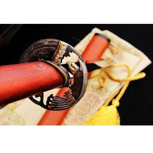 Sztylet samurajski tanto, stal wysokowęglowa 1095, hartowany glinką r816 marki Kuźnia mieczy samurajskich