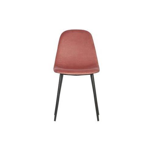 Woood Zestaw 2 krzeseł Marije velvet różowy 373764-R (8714713085200)