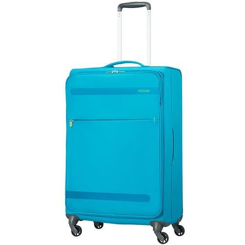 American tourister herolite średnia walizka 67 cm / niebieska - mighty blue (5414847858260)