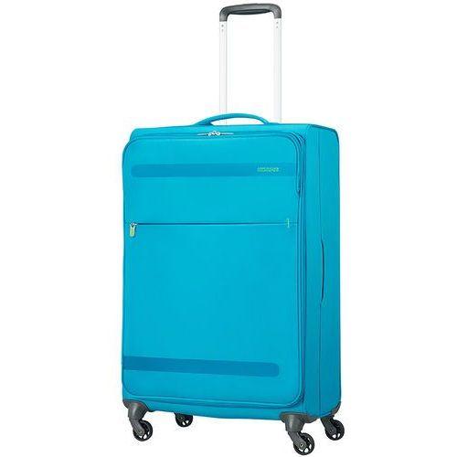 American Tourister Herolite średnia walizka 67 cm / niebieska - Mighty Blue
