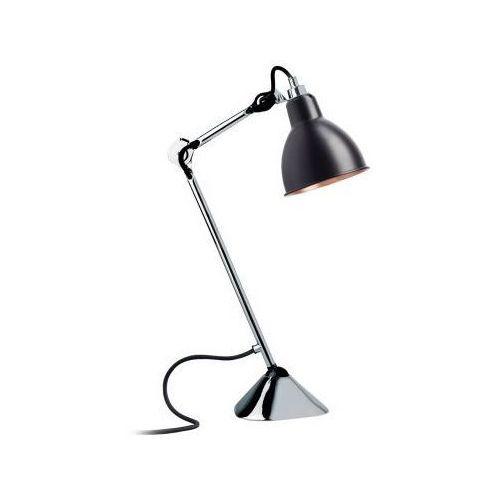 Lampe Gras N°205 - lampa biurkowa - chrom/czarny/miedziany