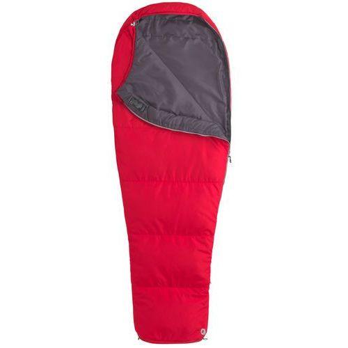 nanowave 45 śpiwór long czerwony lewe 2018 śpiwory syntetyczne marki Marmot