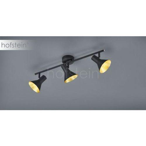 Trio Plafon lampa sufitowa nina r80163002 industrialna oprawa metalowa listwa reflektorki loft czarne złote