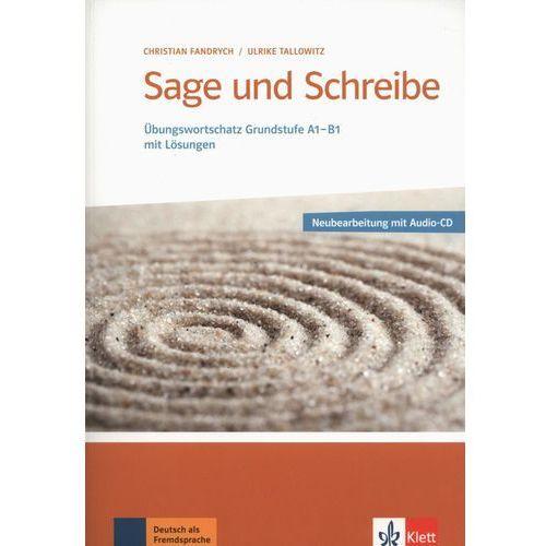 Sage und schreibe, Übungswortschatz Grundstufe Deutsch