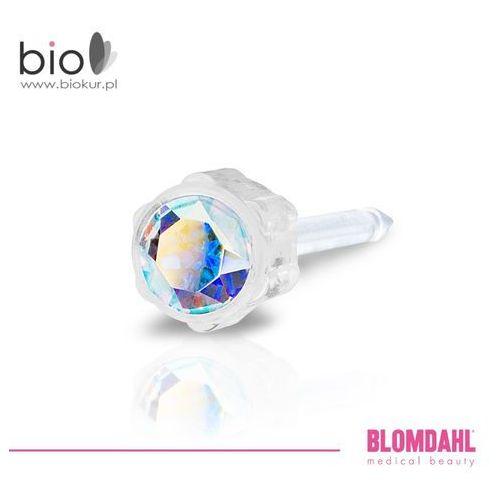 Blomdahl Kolczyk do przekłuwania uszu - rainbow 4 mm