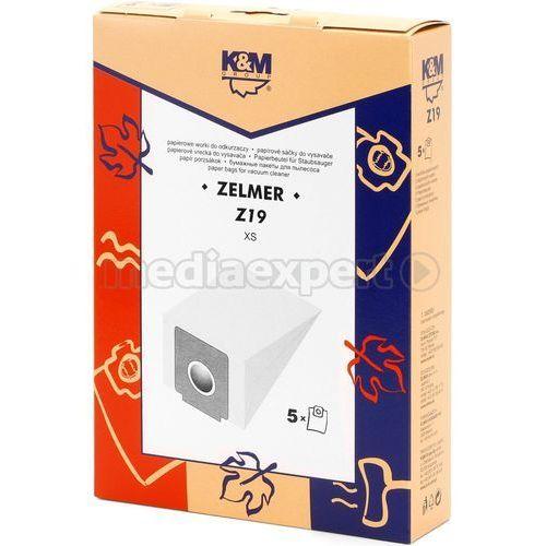 K&m Worek do odkurzacza z19.2 (5 sztuk) (5907664992908)