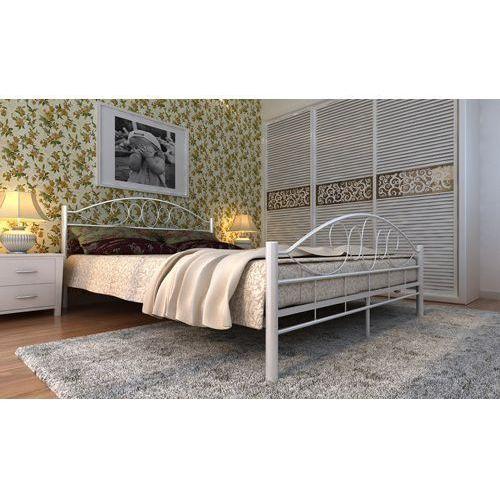 Łóżko metalowe 180x200cm podwójne stelaż marki Lagis