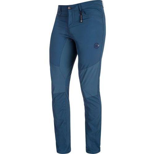 runbold light spodnie długie mężczyźni niebieski de 50 2018 spodnie turystyczne marki Mammut