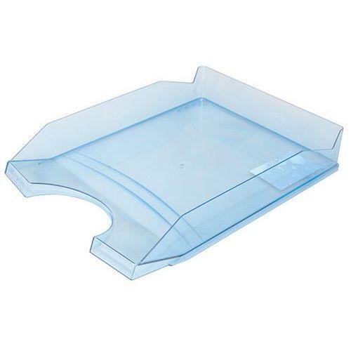 Szufladka na biurko OFFICE PRODUCTS, polistyren/PP, A4, transparentna niebieska, 18016011-01