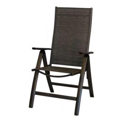 Rojaplast Krzesło LONDON antracyt-czarny