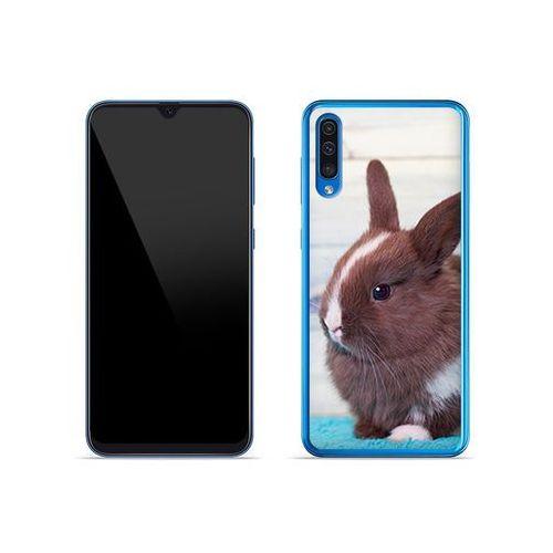 Etuo foto case Samsung galaxy a50 - etui na telefon foto case - brązowy królik