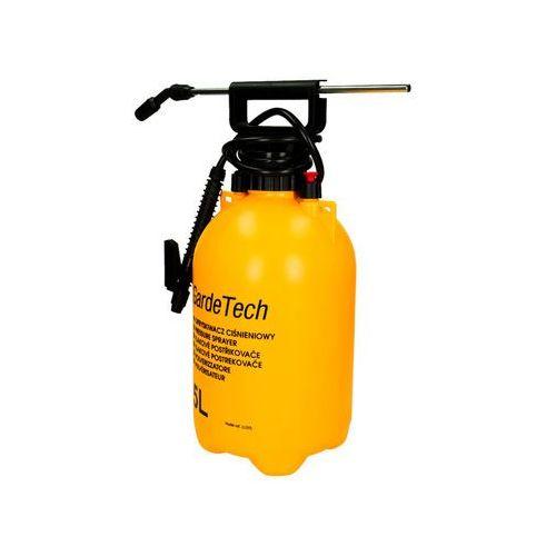Gardetech Opryskiwacz ciśnieniowy z lancą 5l do oprysków chemicznych. (5907782181369)