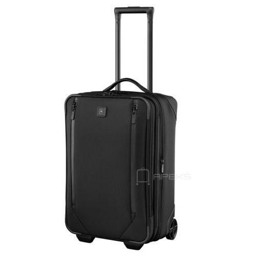 """Victorinox lexicon 2.0 mała poszerzana walizka kabinowa 29/56 cm na laptopa 17"""" i tablet 10'' / czarna (7613329018019)"""