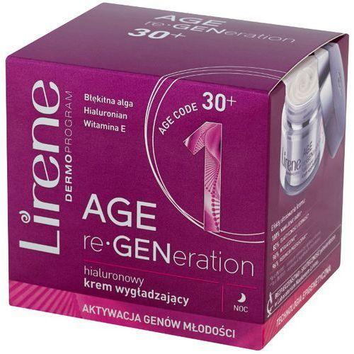 LIRENE 50ml DermoProgram 30+ Age re-Generation Hialuronowy krem wygładzający na noc (5900717722118)