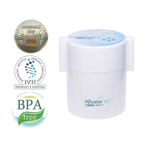 Burbuliukas Jonizator wody aquator classic mini, 1,5 l