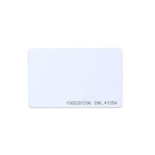 Import Mfrc1n karta zbliżeniowa mifare 1k iso biała z nadrukowanym numerem csn