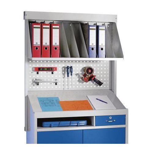 Mades Nakładka organizacyjna na szafkę z pulpitem, nakładka do sortowania, tylko do na