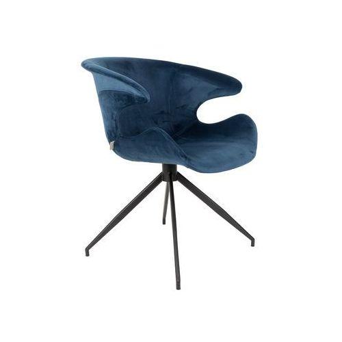 Fotel MIA niebieski, kolor niebieski