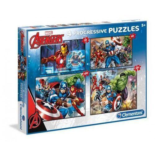20 60 100 180 elementów Linia Specjalna Avengers (8005125077229)
