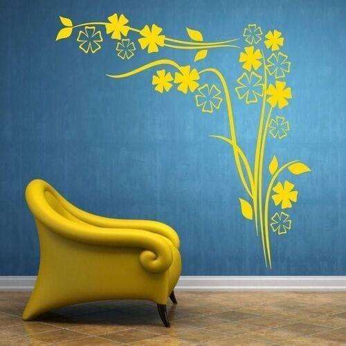 Wally - piękno dekoracji Naklejka floral 1235