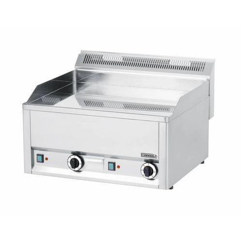 Płyta grillowa elektryczna gładka nastawna   650x480mm   6000W