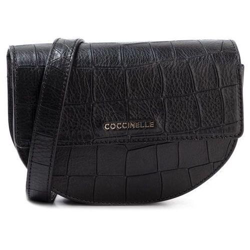 Saszetka nerka - fv3 mini bag e5 fv3 57 06 08 noir 001 marki Coccinelle