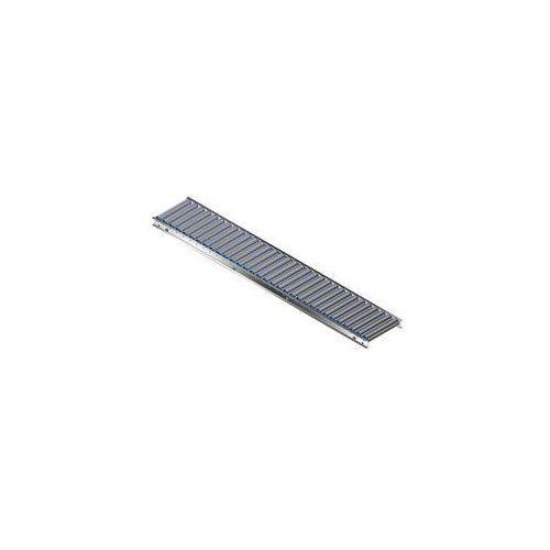 Gura fördertechnik Lekki przenośnik rolkowy, rama aluminiowa i rolki z aluminium,szer. przenośnika 300 mm