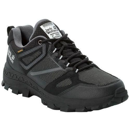 Jack wolfskin downhill texapore buty kobiety, black/grey uk 4 | eu 37 2020 buty turystyczne