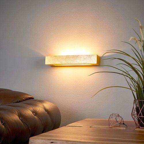 Lindby Lampa ścienna w stylu art deco złota - emina