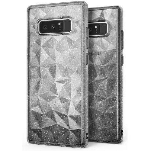 Etui Ringke Air Prism Glitter Samsung Galaxy Note 8 Gray, kolor szary