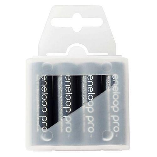 4 x akumulatorki Panasonic Eneloop PRO R6 AA 2550mAh BK-3HCCE/4T (box) - produkt z kategorii- Akumulatorki