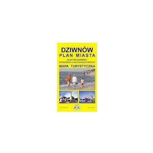 Dziwnów - Plan Miasta z Mapą Wyspy Wolin i Planami Łukęcina, Międzywodzia, Dziwnówka (ilość stron 98)