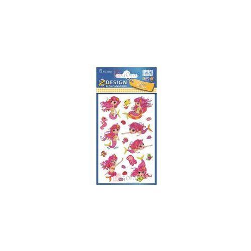 Naklejki brokatowe - Syreny (4004182560617)