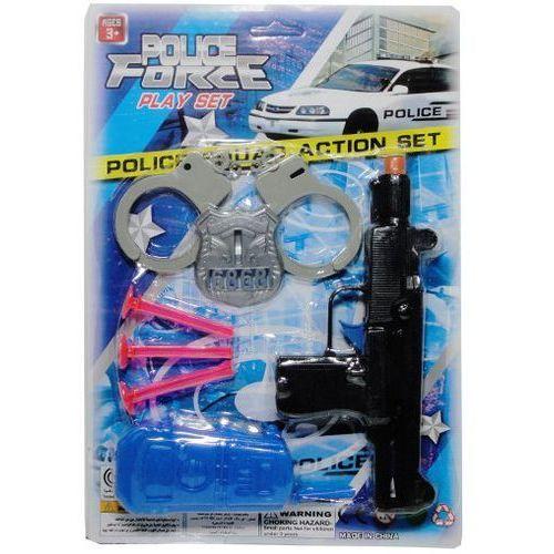 Zabawka SWEDE G1067 Pistolet w zestawie policyjnym (5902496110360)