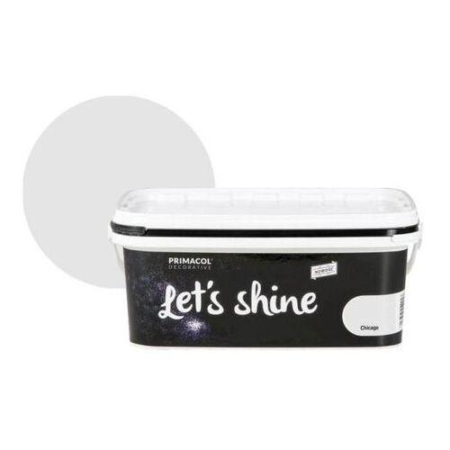 Farba dekoracyjna Primacol Let's Shine Chicago jasna szara 2 l, 14458