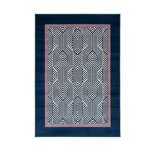 Agnella Dywan ita niebieski 120 x 160 cm (5901760133036)