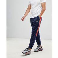 Nike borg joggers with side stripe in navy 929126-451 - navy